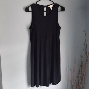 BCBG navy blue dress